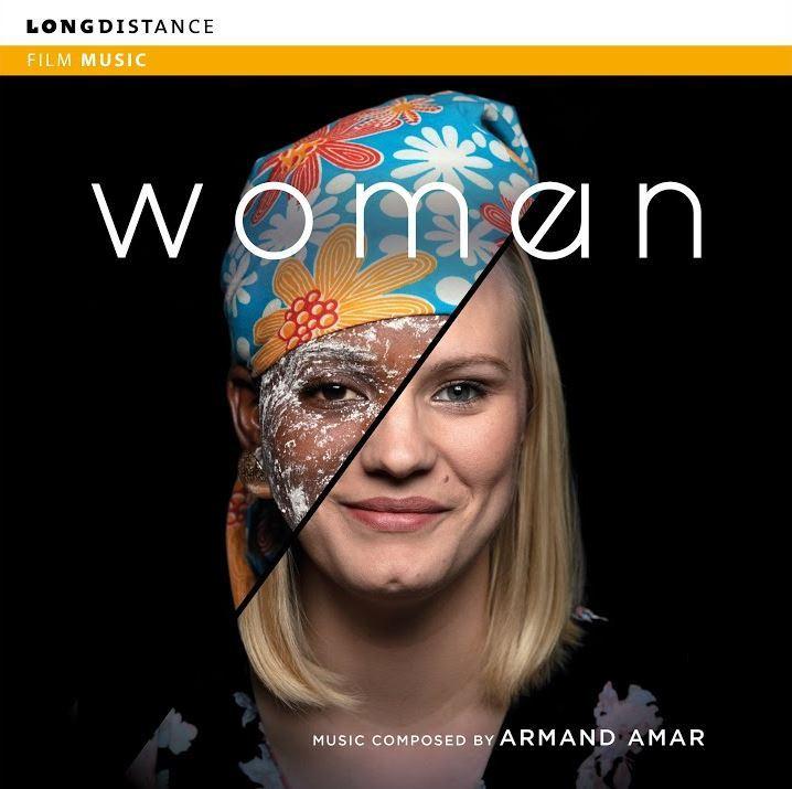 ARMAND AMAR - WOMAN (ORIGINAL MOTION PICTURE SOUNDTRACK) ALBUM ARTWORK