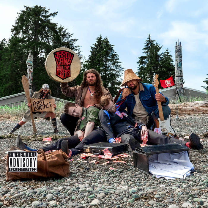 JASON CAMP AND THE POSERS - FIRST CONTACT album artwork