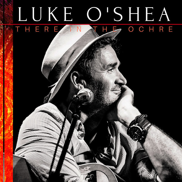 LUKE O'SHEA - THERE IN THE OCHRE album artwork