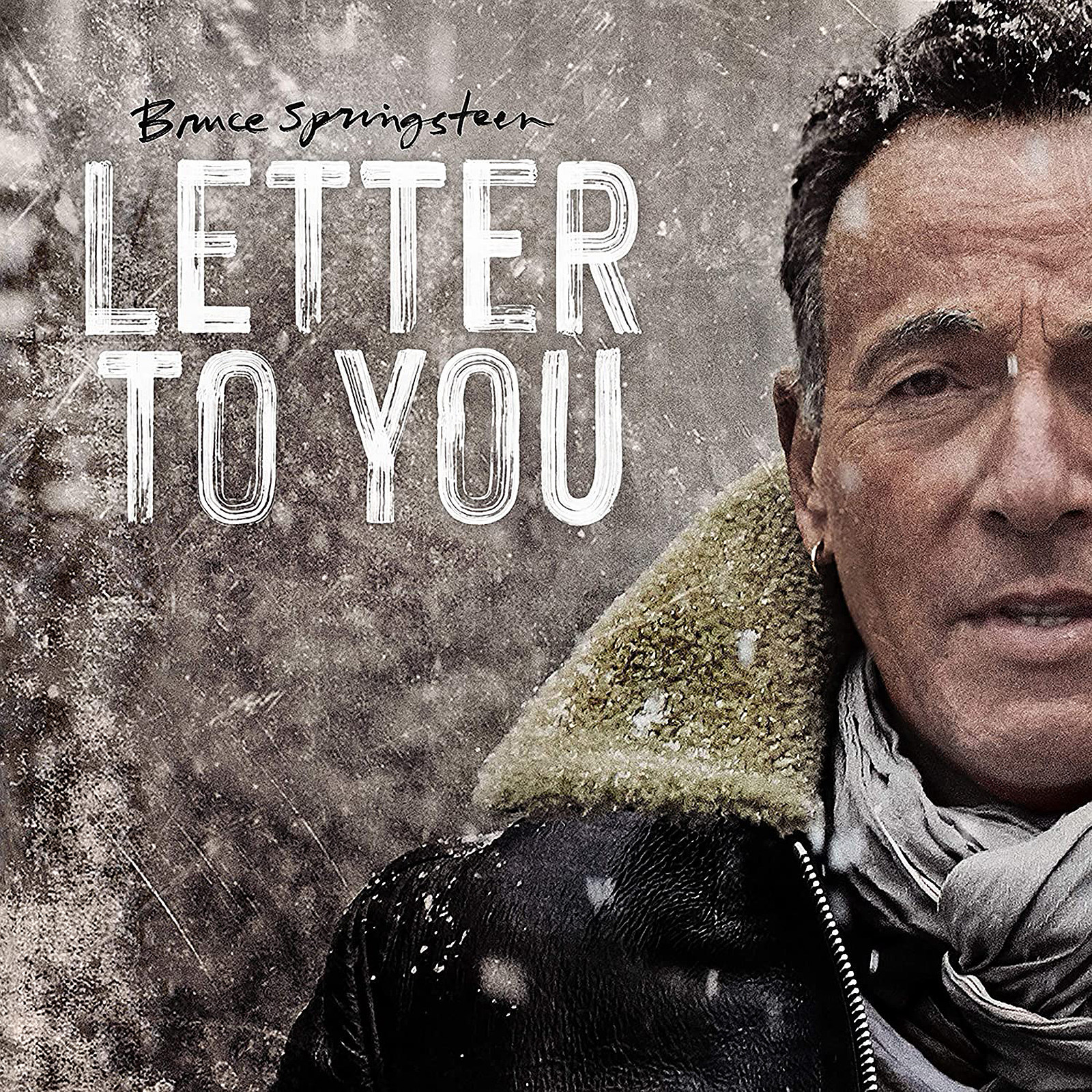 BRUCE SPRINGSTEEN - LETTER TO YOU album artwork