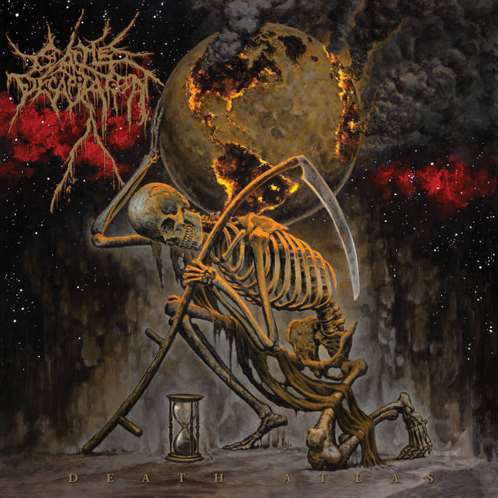 CATTLE DECAPITATION - DEATH ATLAS album artwork
