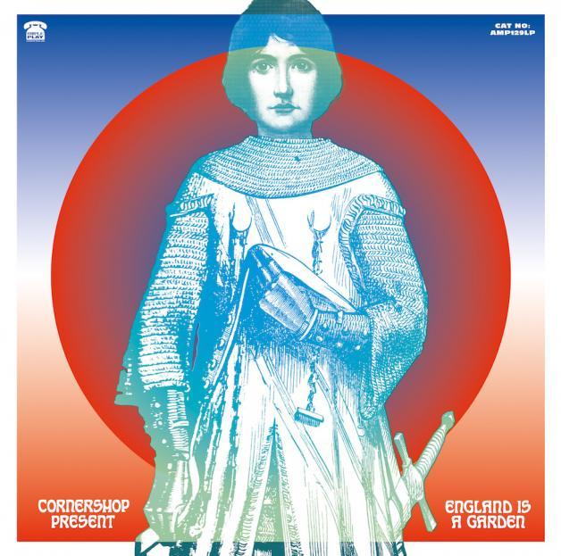CORNERSHOP - ENGLAND IS A GARDEN ALBUM ARTWORK