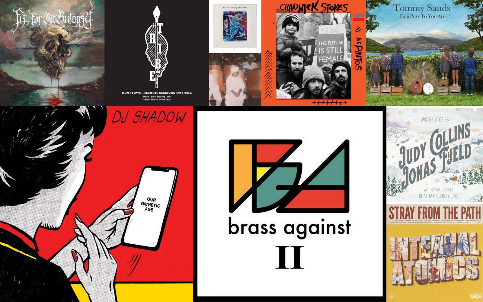 November 2019 bonus political albums artwork