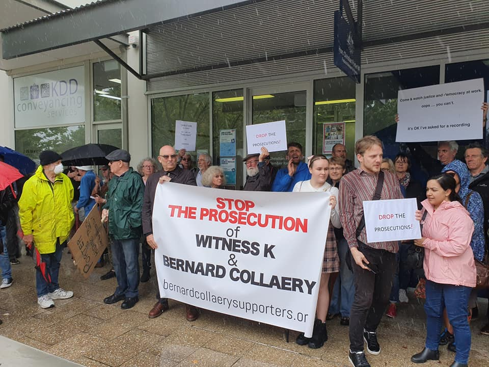 Perth Witness K protest