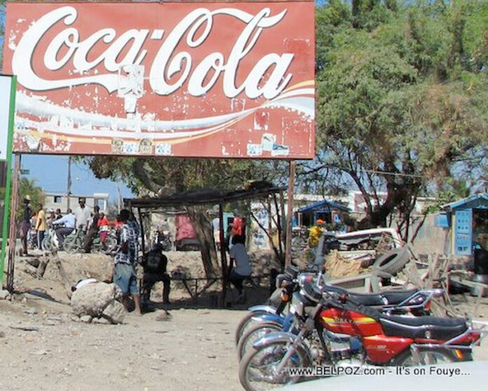 Moïse gives Haiti to Coca-Cola, while people starve