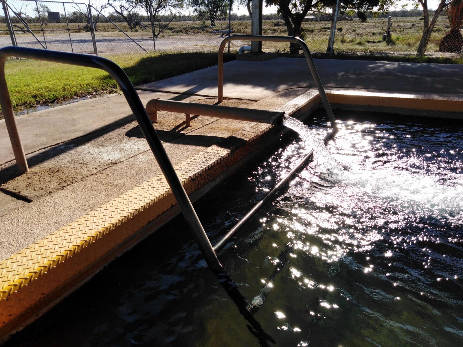 Pilliga hot bore baths