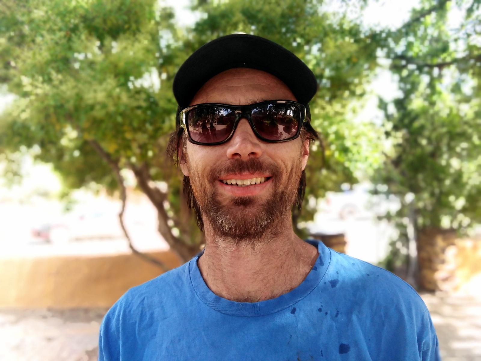 Pilliga Forest activist Dan Lanzini