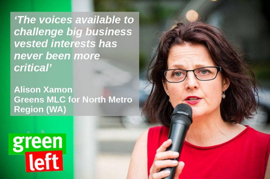 Alison Xamon supports #GreenLeft30