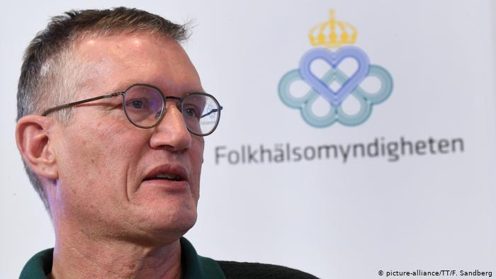 Anders Tegnell, Sweden's state epidemiologist (Credit: F. Sandberg   TTF)