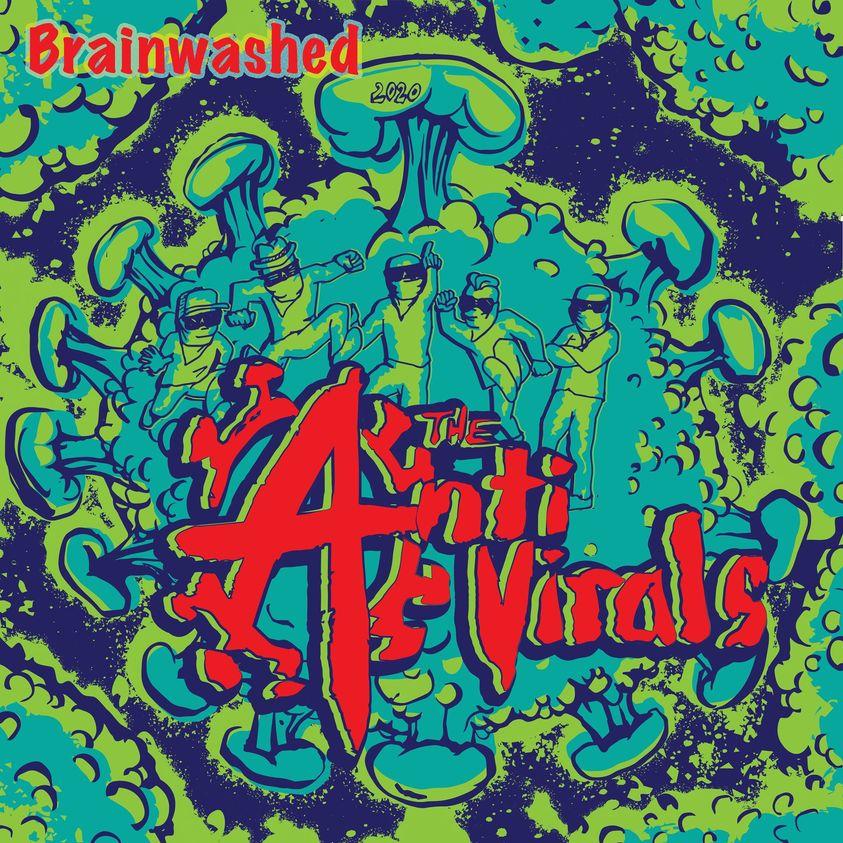 THE ANTI VIRALS - BRAINWASHED album artwork