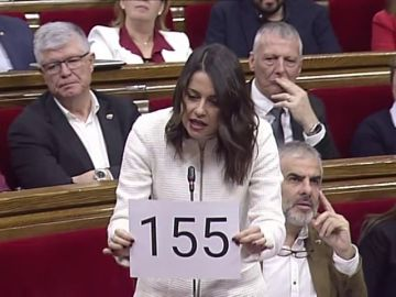 Citizens' leader Arrimades demands relifting of Catalan autonomy under article 155