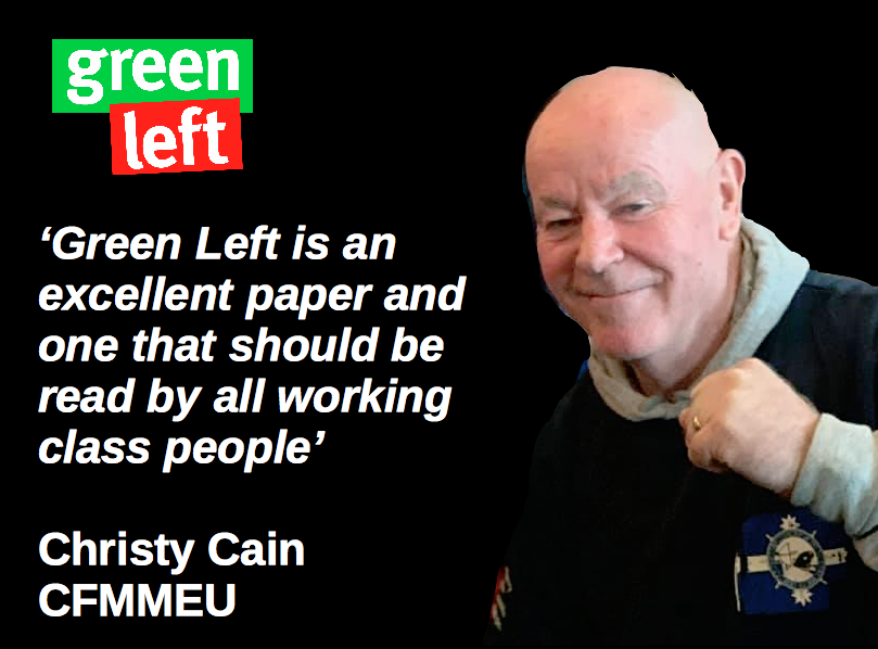 Christy Cain supports #GreenLeft30