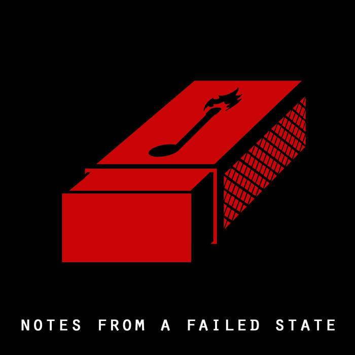 DAVID ROVICS - NOTES FROM A FAILED STATE album artwork