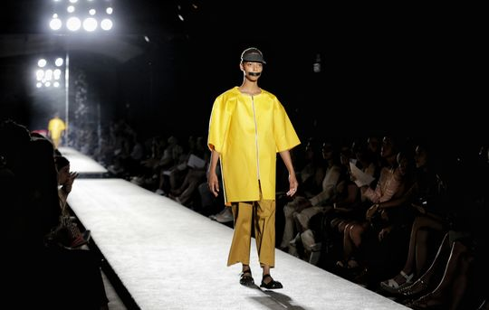 Barcelona Fashion Week in solidarity with the Catalan political prisoners