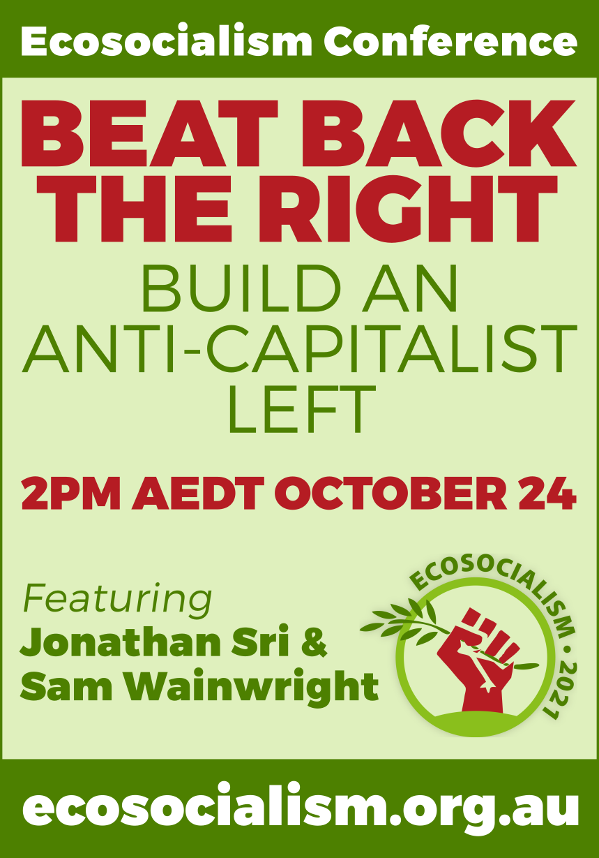 Beat back the right | Ecosocialism conference panel