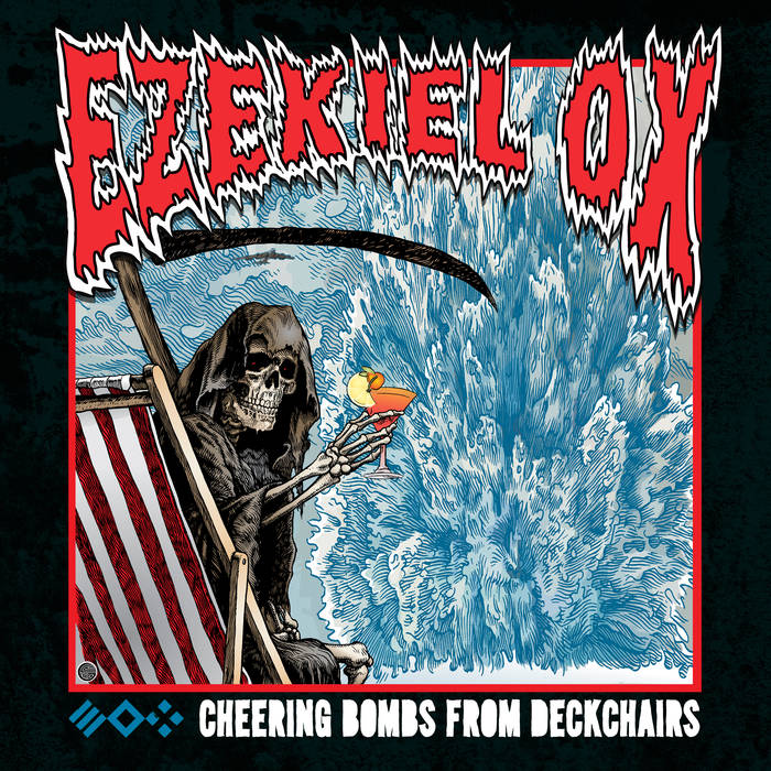 EZEKIEL OX - CHEERING BOMBS FROM THE DECKCHAIRS ALBUM ARTWORK