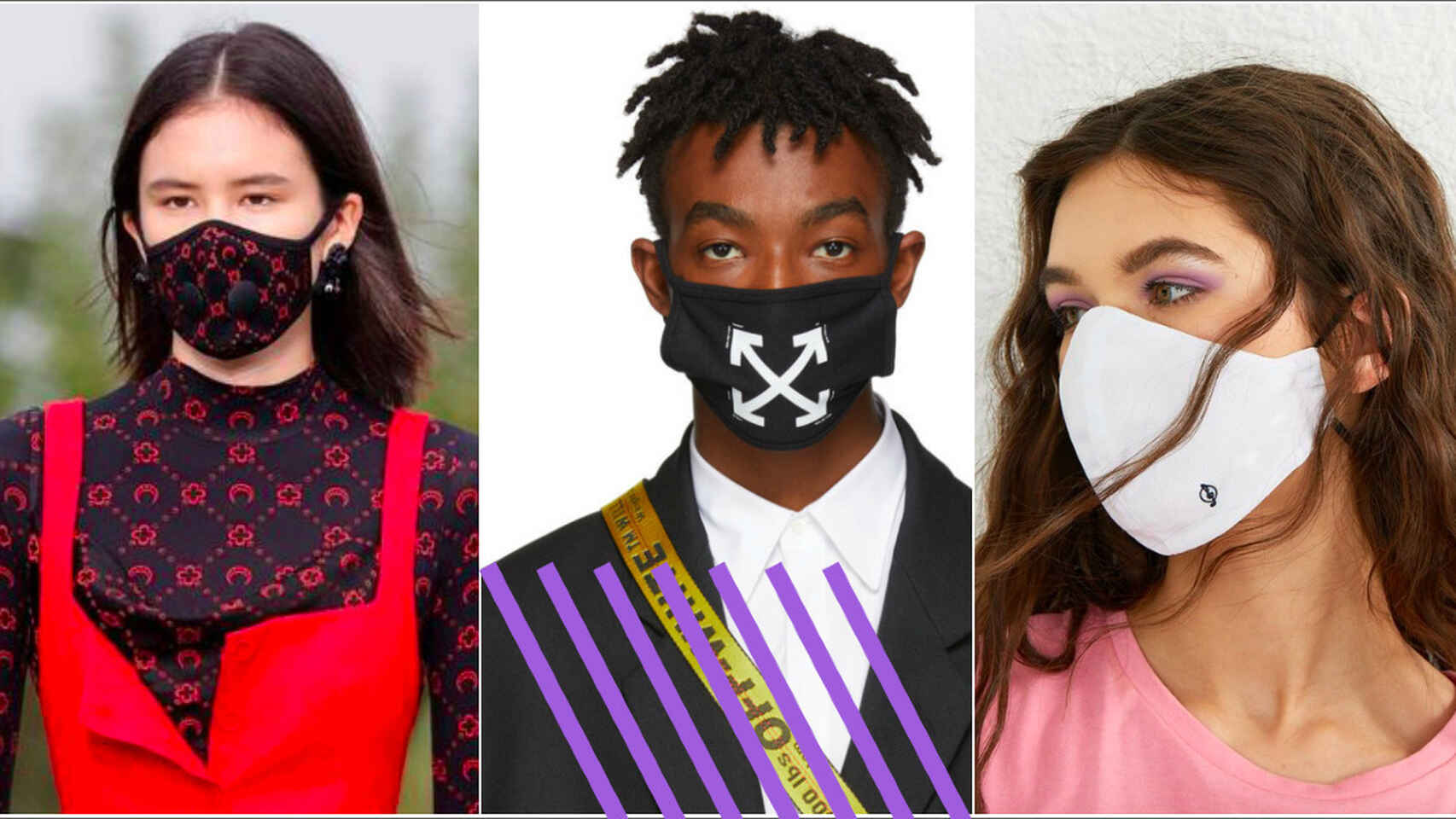 Some new looks in face masks fortThis European summer (Credit: El Español)