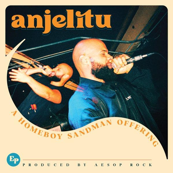 HOMEBOY SANDMAN - ANJELITU EP artwork