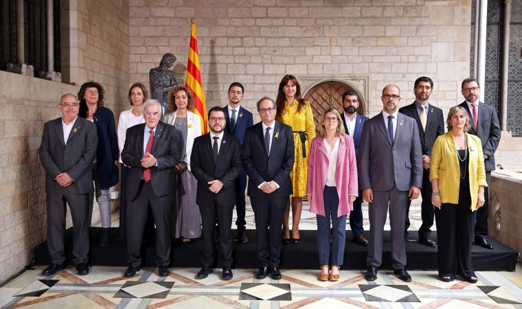 New Catalan ministry, sworn in on June 2