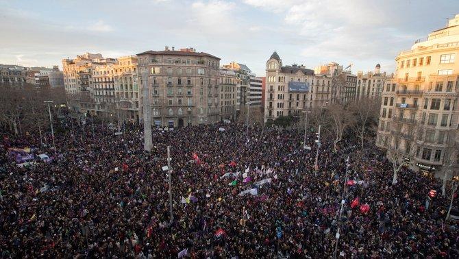 8 de març Vaga Feminista Barcelona