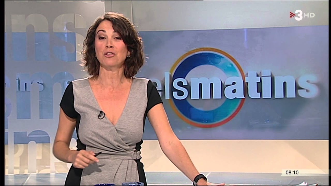Lídia Heredia, presenter of TV3 breakfast show Èls Matins' [The Mornings]
