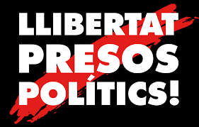 Free Catalan political prisoners logo