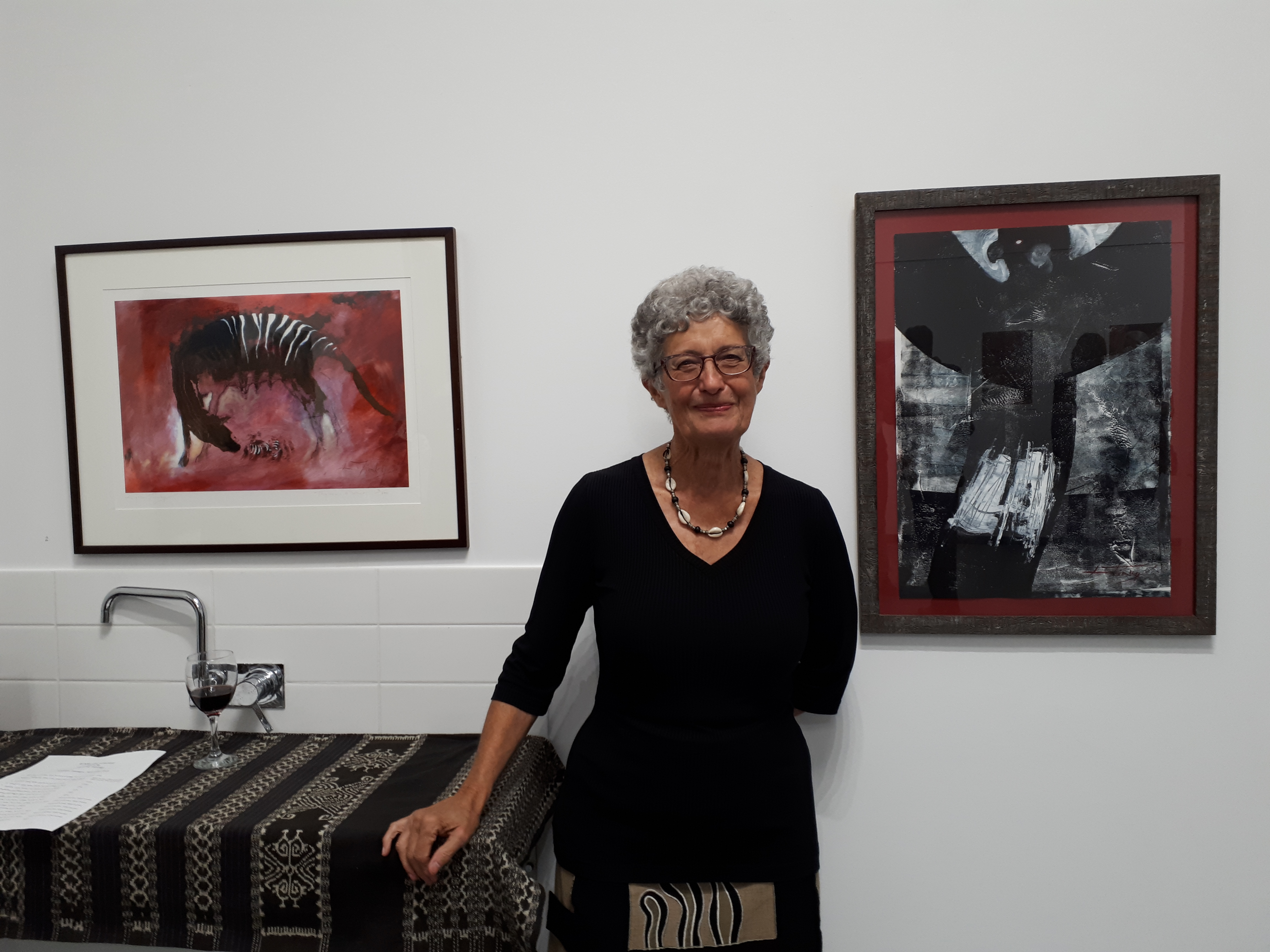 Perth artist paints Earth's grief