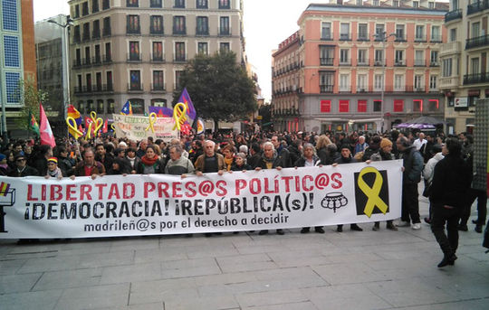 April 7 Madrid demonstration for right to decide