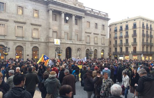 April 10 Barcelona demonstration against arrest of CDR member