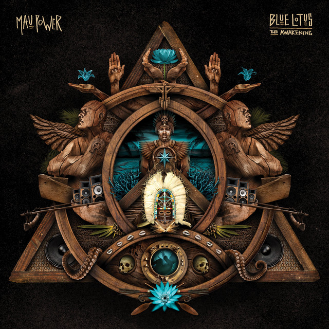 MAU POWER - BLUE LOTUS THE AWAKENING album artwork