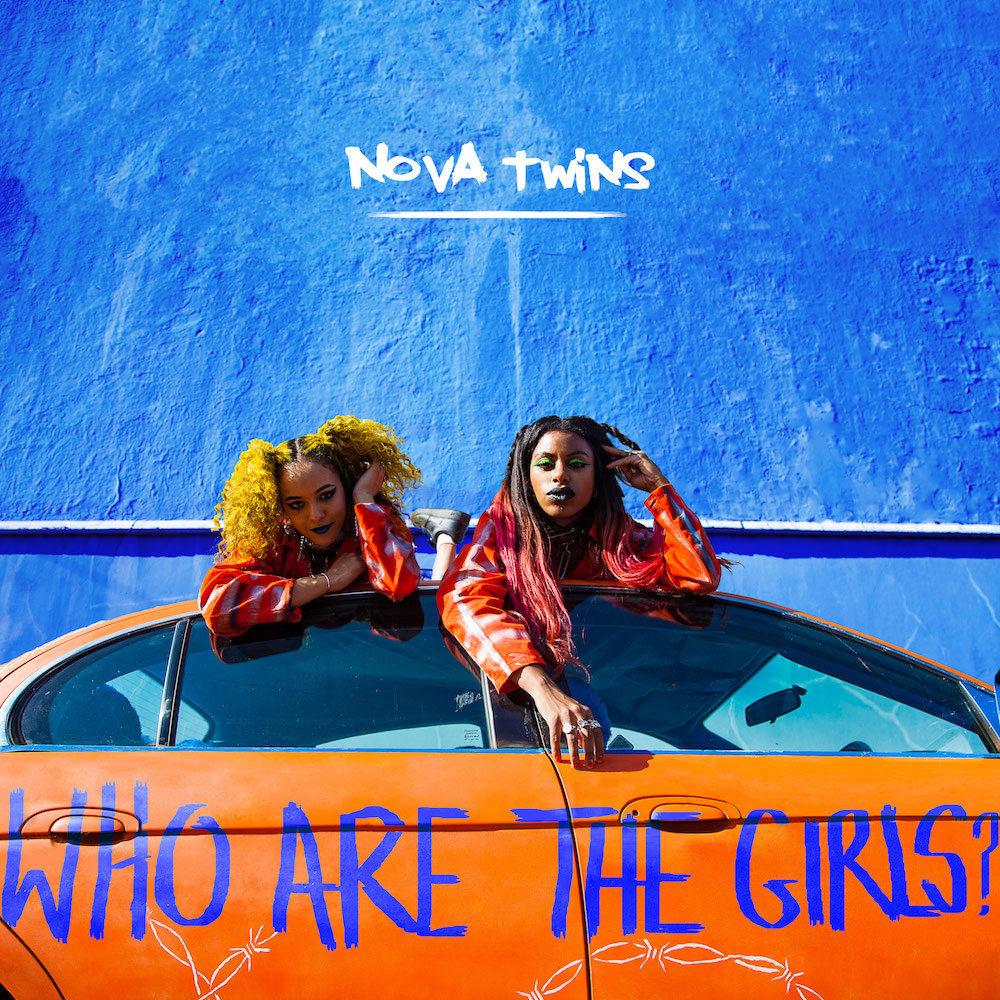 NOVA TWINS - WHO ARE THE GIRLS album artwork