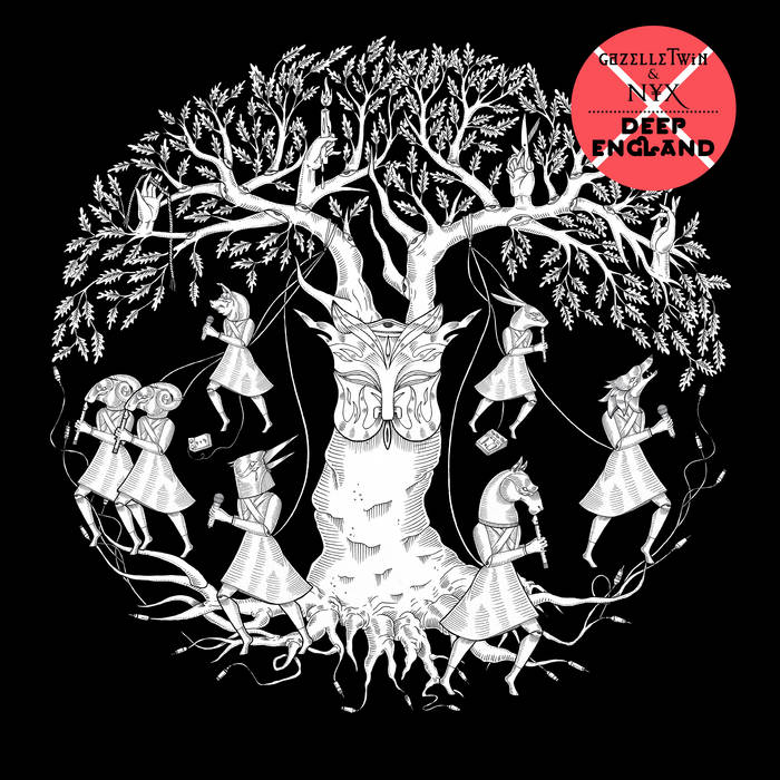 GAZELLE TWIN & NYX - DEEP ENGLANDalbum artwork