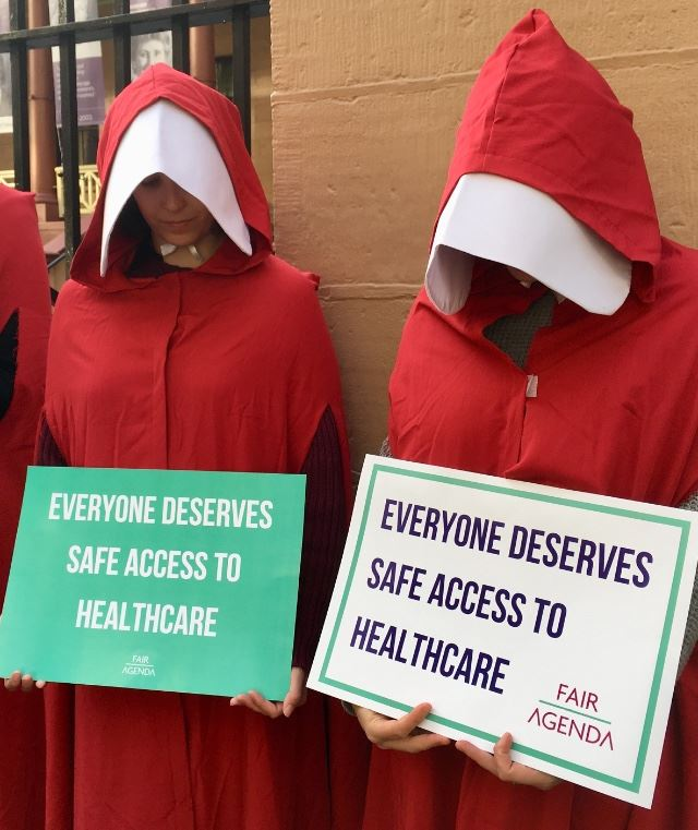 Abortion safe access zones challenged in High Court