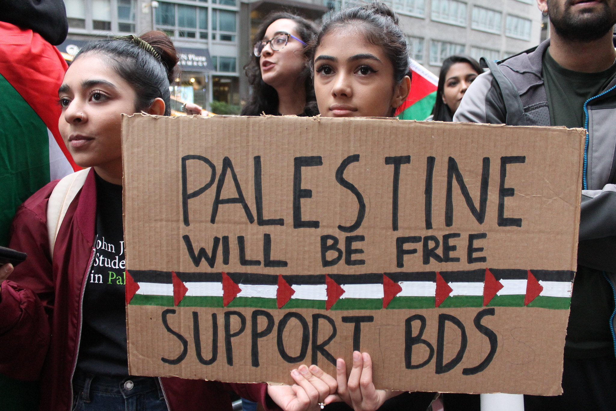Image result for bds rally new york