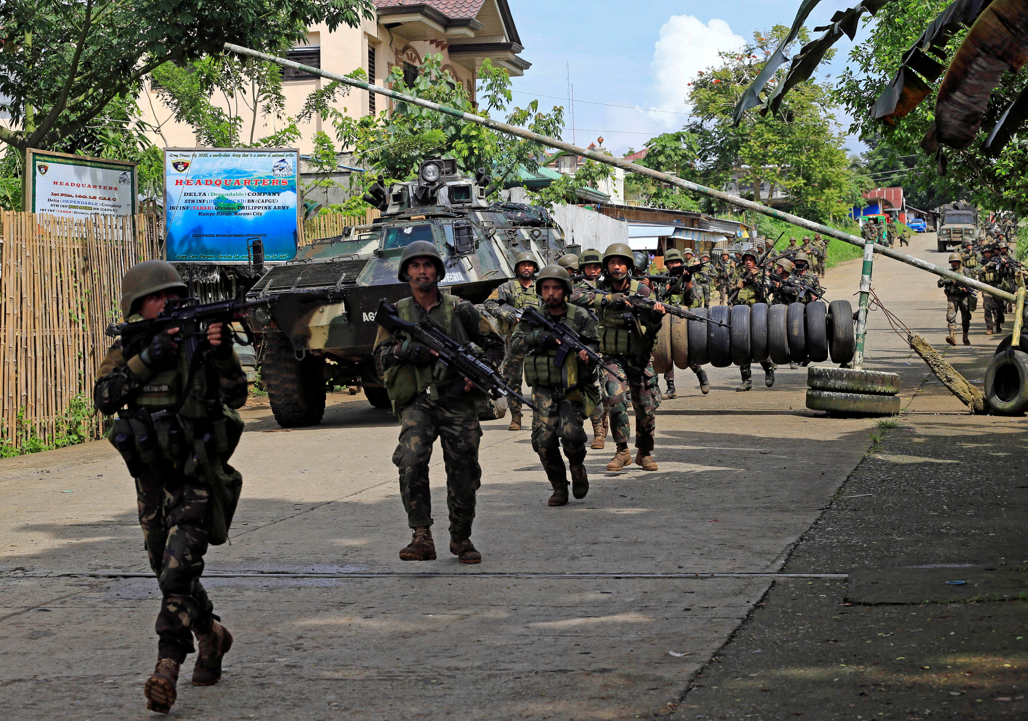proclaiming martial law throughout the philippines He said martial law in the area will be in effect for 60 days, as stipulated  they  understand that the president has to return to the philippines.