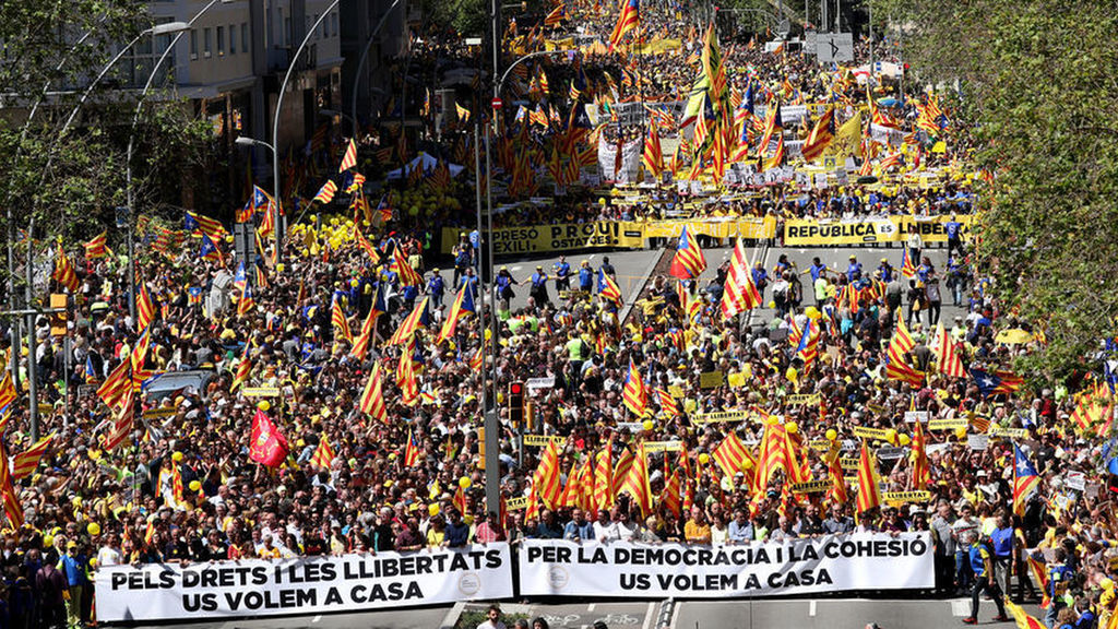 April 15 Barcelona demo: lead banners