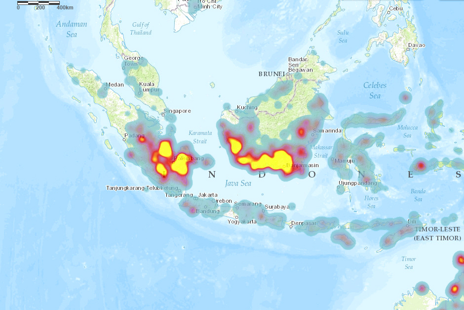 an analysis of the fires of indonesia Causes and impacts of forest fires: a case study from east kalimantan, indonesia (iffn no 22 - april 2000, p 35-40) forest and land fires in indonesia.