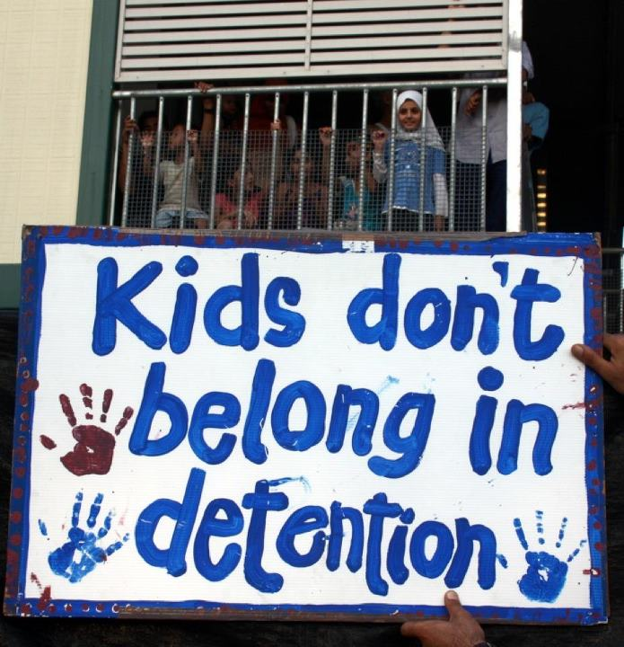 Image result for detained children