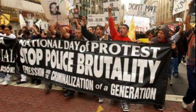 "an argument against the police brutality in the united states Democracy now coverage of police brutality from our daily digest brings democracy now to your denver post revolts against its ""vulture"" hedge-fund."