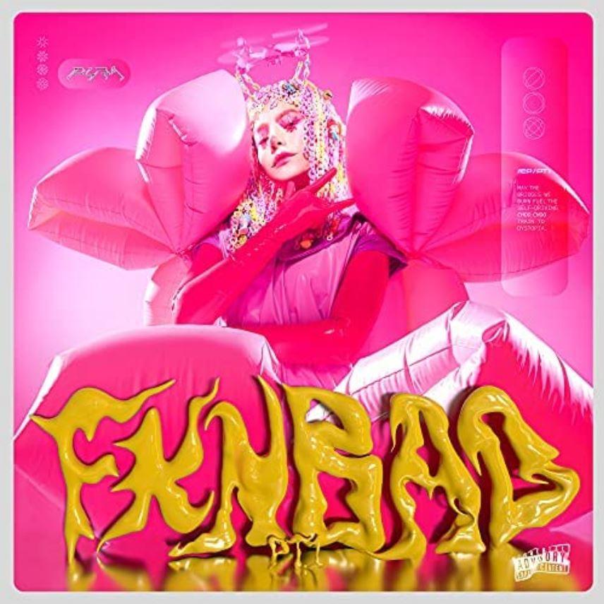 PYRA - FKN BAD PT.1 ep artwork