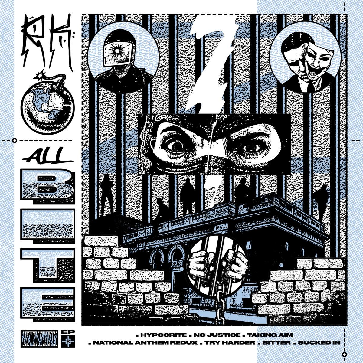 RATKING - ALL BITE album artwork