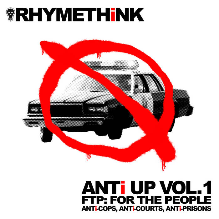 RHYMETHiNK - ANTI UP VOL. 1 FTP (FOR THE PEOPLE) album artwork