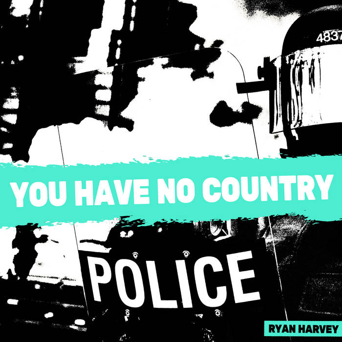 RYAN HARVEY - YOU HAVE NO COUNTRY album artwork