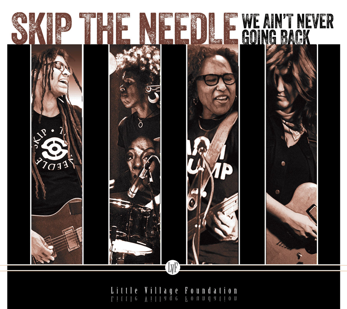SKIP THE NEEDLE - WE AIN'T NEVER GOING BACK album artwork
