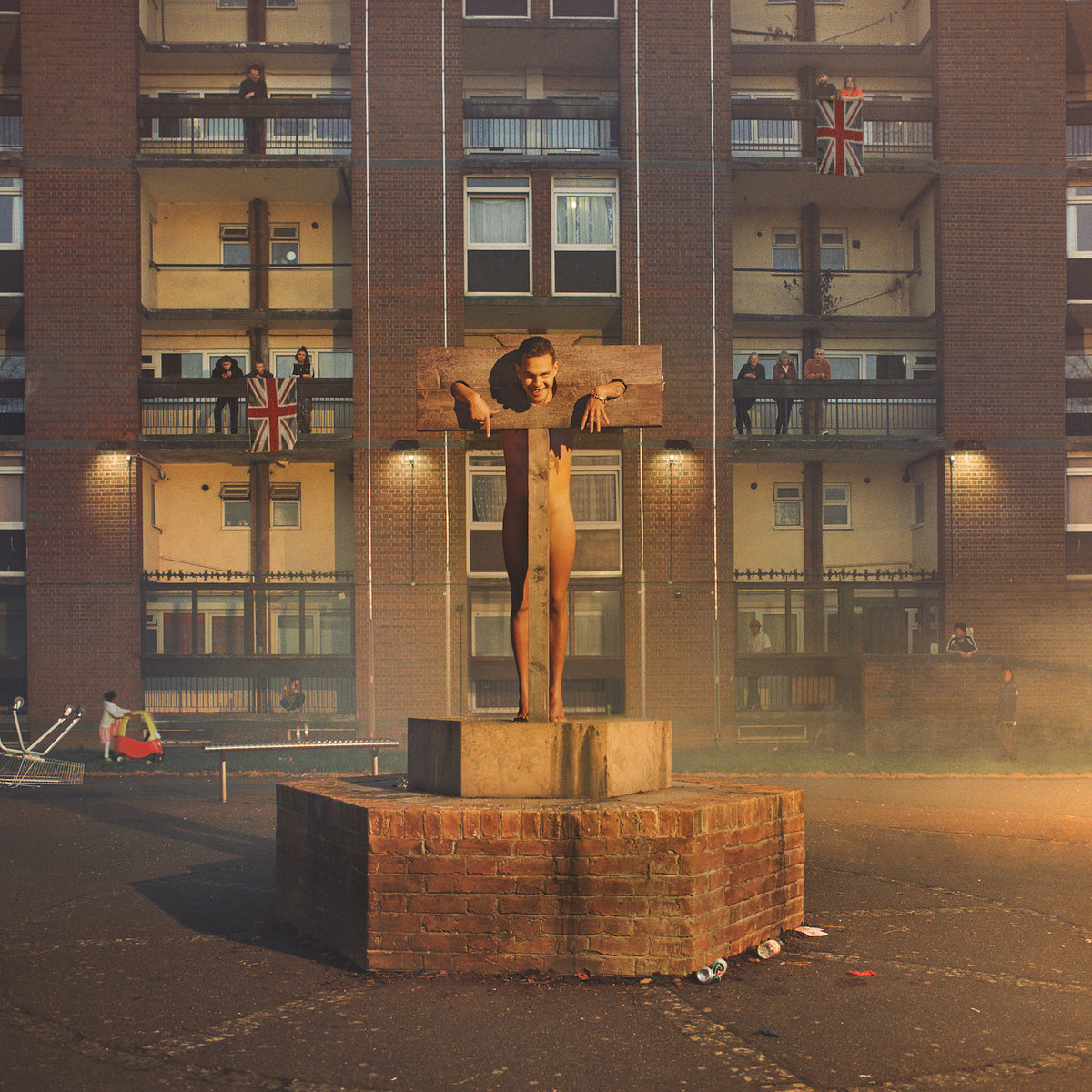 SLOWTHAI - NOTHING GREAT ABOUT BRITAIN ALBUM ARTWORK