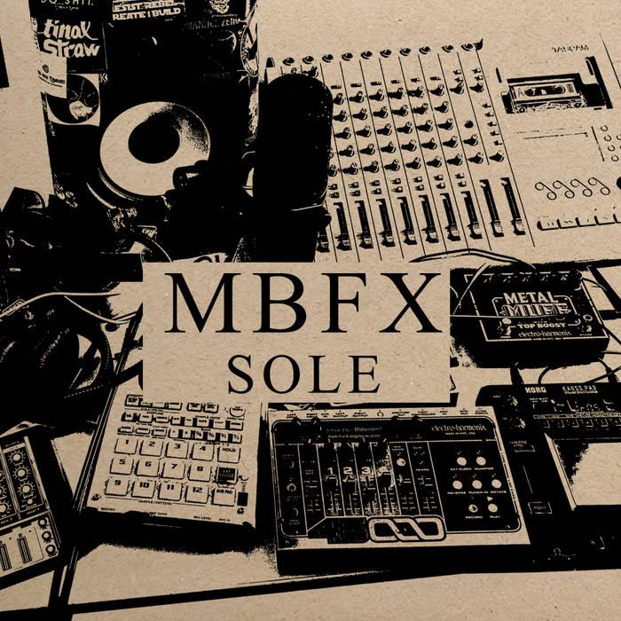 SOLE - MBFXalbum artwork