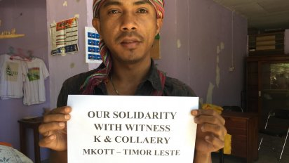 Solidarity with Witness K