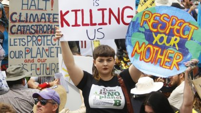 Capitalism is Killing us - Extinction Rebellion Action 11 October 2019 Brisbane