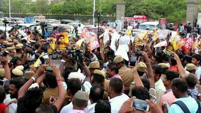 Tamil human rights activists arrested in India