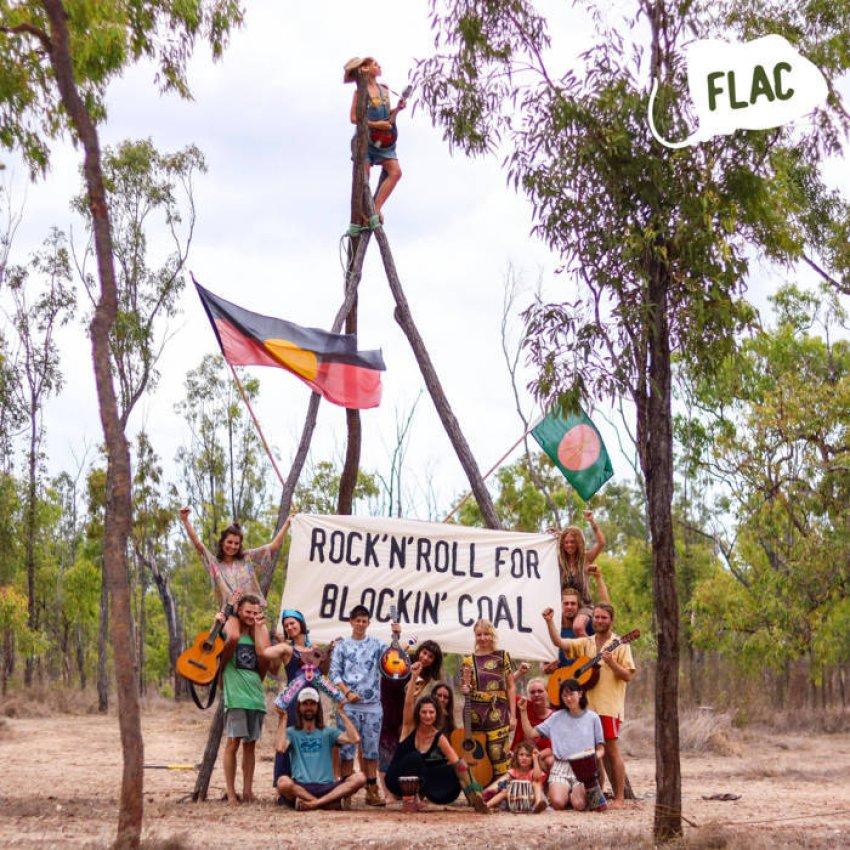 VARIOUS ARTISTS - ROCK'N'ROLL FOR BLOCKIN' COAL album artwork